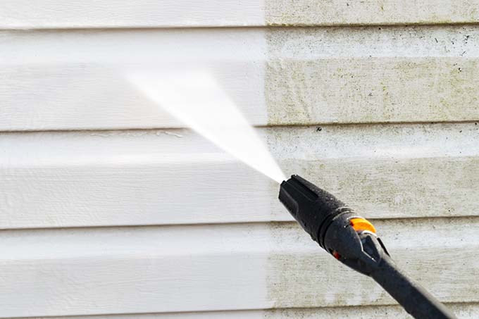 siding pressure washing, portland or
